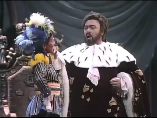 Volta la Terrea - Un Ballo in Maschera (Pavarotti Blackwell)