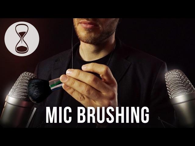 ASMR ✰ Binaural Mic Brushing ✰ Soft Whispering ✰ Personal Attention