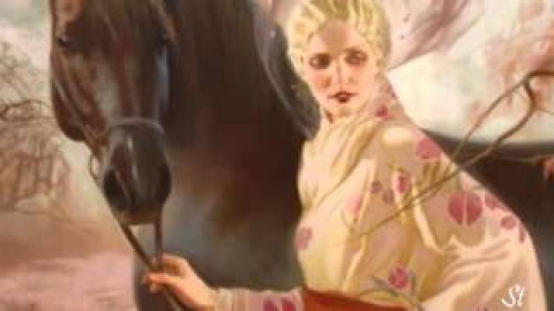 Bijan Mortazavi - Boghz and Svetlana Valueva - paintings