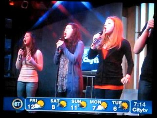 Mama Who Bore Me (Reprise) - Tour Cast of Spring Awakening - Breakfast Television - Toronto