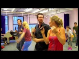 Behind the Scenes Aaron Lazar, Judy McLane and More in Rehearsal for