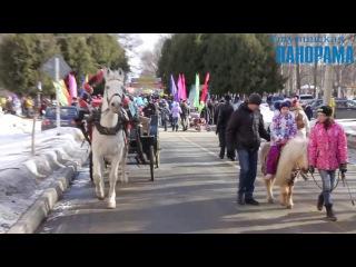 Масленичные гуляния прошли в парке культуры и отдыха имени Н. Островского в Ступ...