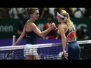 Simona Halep vs Dominika Cibulkova | 2016 WTA Finals Singapore Highlights