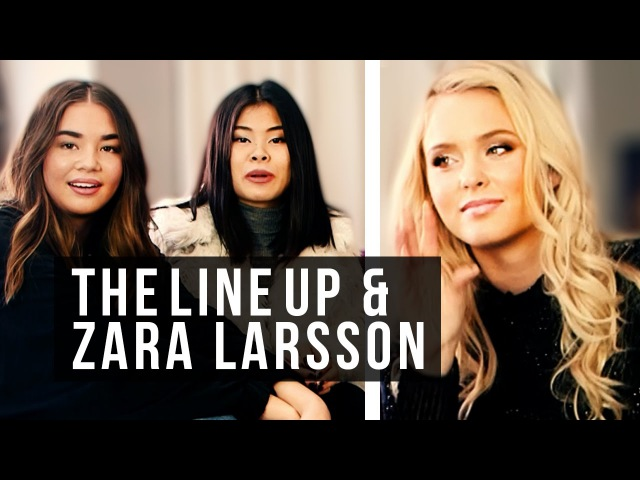 TheLineUp träffar Zara Larsson och pratar om hennes Lush Life