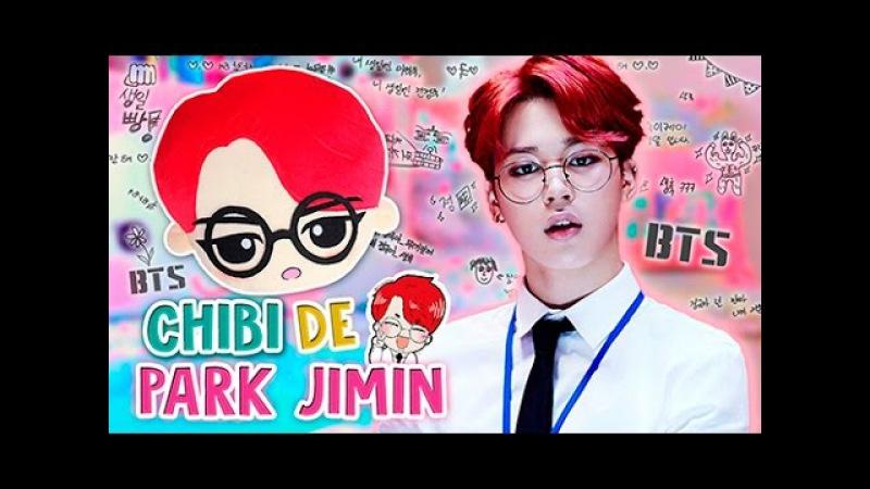 Haz tu PELUCHE CHIBI DE JIMIN BTS ♡   Diy Kpop   Decora tu Habitación (FÁCIL)   Fabbi Lee