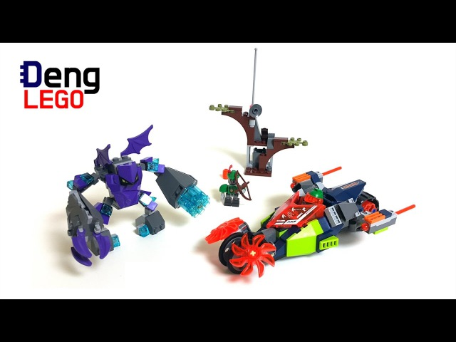 LEGO Nexo Knights 70358 Aaron's Stone Destroyer - LEGO Speed Build