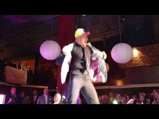[#My1] WWE Superstar Mojo Rawley At David Alan Fashion Show