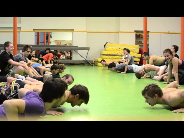 Bring Sally Up, Push Up Challenge - SebeRevolta Olomouc