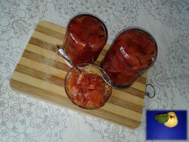 ВАРЕНЬЕ ИЗ АЙВЫ - болгарский рецепт / Quince jam - Bulgarian recipe