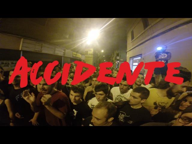 ACCIDENTE Full Set Caos a Gracia 2016