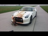 Top of Nissan GT-R CRASH and FAIL Epic Sounds