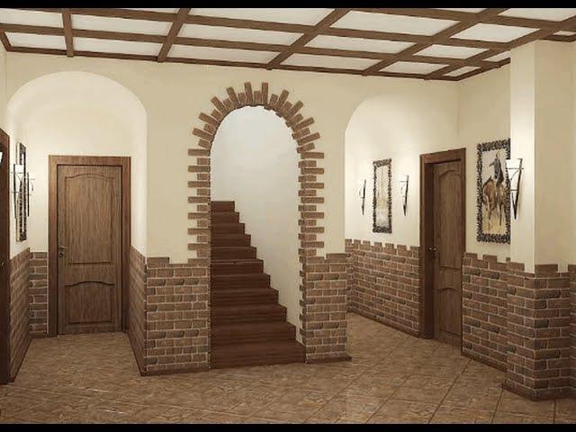 Идеи интерьера коридора в частном доме