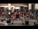 Эндрю Оттавей, тяга 370 кг