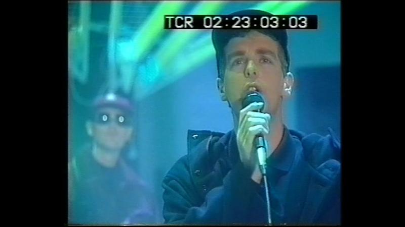Pet Shop Boys It's A Sin Rent Live PPS 1987