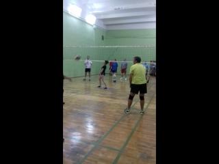 Волейбол. Игровая тренировка. Взрослая группа.