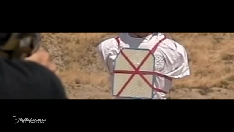 Самодельная бронеплита из панели баллистического стекловолокна против пули