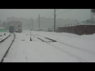 Погодні умови не завадили активно попрацювати під час останнього відрядження до Південної залізниці у м. Харків, Люботин та Куп'