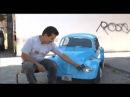 Hombre crea auto miniatura