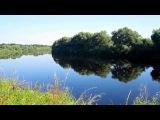 водный пейзаж , река Ловать, Новгородская область, Россия.