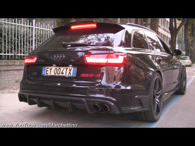 INSANE Sounding ABT RS6 R w Straight Pipes Dekat Milltek Exhaust