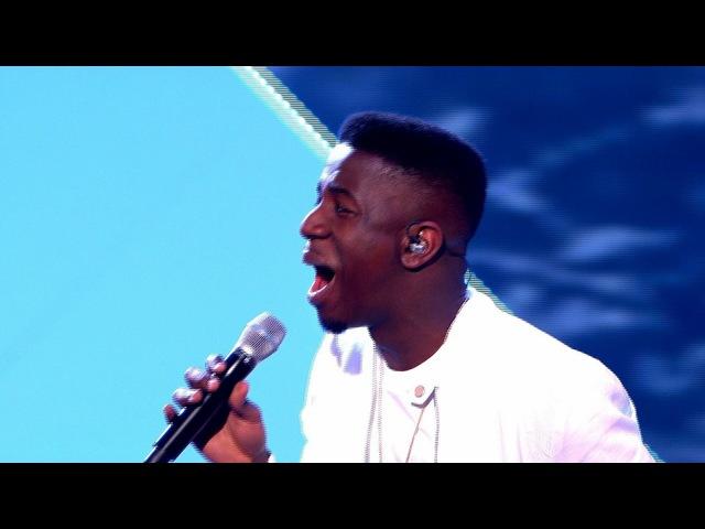 Шоу Голос Британия. - Джермейн Джекман с песней Без тебя. — The Voice UK 2014. - Jermain Jackman performs 'Without You' - 4: The Live Semi Finals - (оригинал David Guetta feat. Usher) BBC One