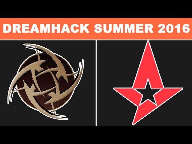 NiP vs Astralis - DreamHack ZOWIE Open Summer 2016 - BO3 - map2 @ Semi-final