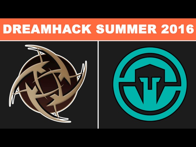 NiP vs Immortals - DreamHack ZOWIE Open Summer 2016 - BO3 - map1 @ Grand final