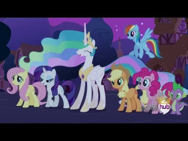 Twilight becomes an Alicorn Princess Full Scene