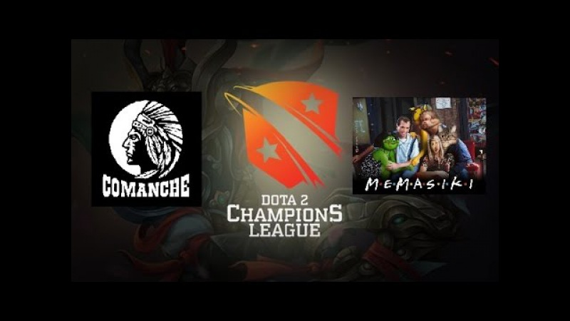 Memasiki vs team_ XaKoH(Comanche )O.Q Dota2 Champins league8