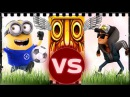 Minion Rush Field Sport VS Temple Run 2 Blazing Sands VS Subway Surfers Dark Outfit PART 2