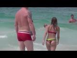 Сексуальные купальники. Сексуальные девушки на пляже. Откровенные женские трусики, голые попки.