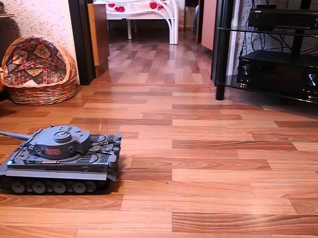 Радиоуправляемый танк Heng Long German Tiger масштаб 116 40Mhz 3818 1 1