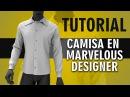 Tutorial en español camisa en Marvelous Designer