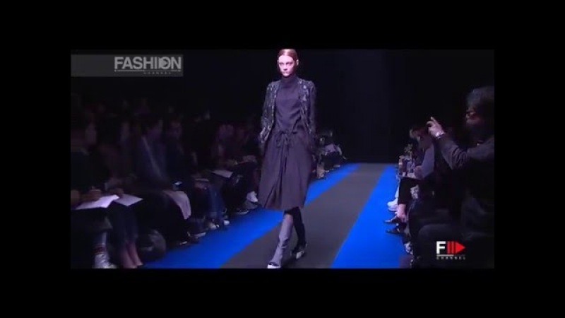 DIVKA Tokyo Fashion Week Fall 2016 by Fashion Channel