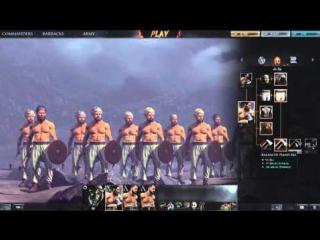 Total War Arena - Великолепие варварской пехоты 2го уровня - Warband и Woodsman