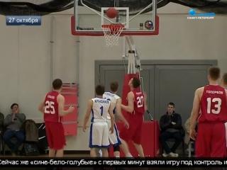 Сюжет телеканала Санкт-Петербург о втором матче ЦОП КБ - Зенит-2