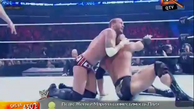 [WWE QTV]☆[Elimination Chamber 2013][Скала vs CM Панк]/[The Rock vs CM Punk]vk.com/wwe_restling_qtv