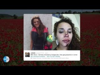 Открылись скандальные подробности массового изнасилования женщин мигрантами в Кельне