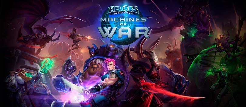 Heroes of the Storm - The Machines of War  презентация  на GamesCon 2016!