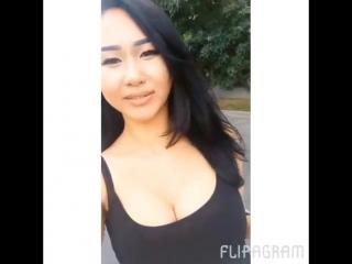 Kazakhstan boobs, naked playing guitar