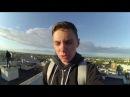 Залаз на самый высокий дом в Костроме , ФЛАГМАН , хожу по краю крыши