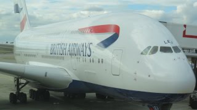 British Airways A380 business class London to Vancouver decline in service