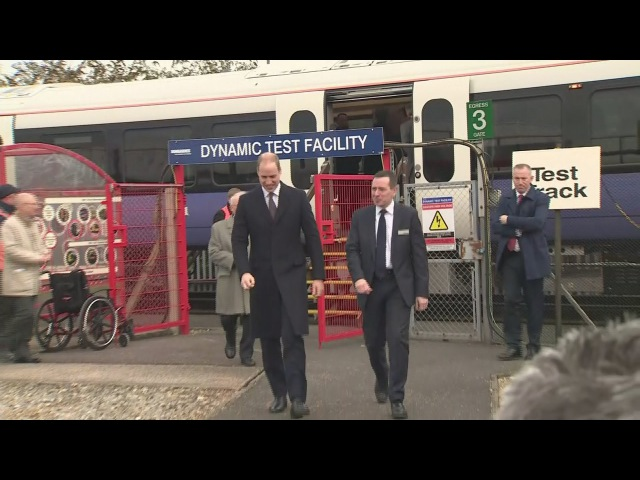 William gets the chance to drive Crossrail train