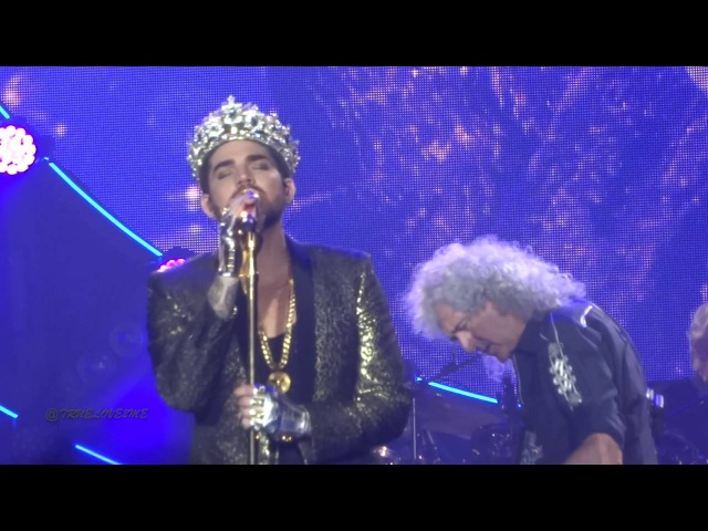 Queen Adam Lambert - WWRY and We Are The Champions @Paleis 12 Brussel