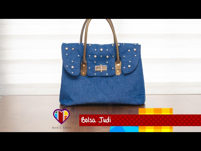 Bolsa de tecido/jeans Judi. DIY. Beautiful jeans bag tutorial. Make a jeans bag. Jeans bags