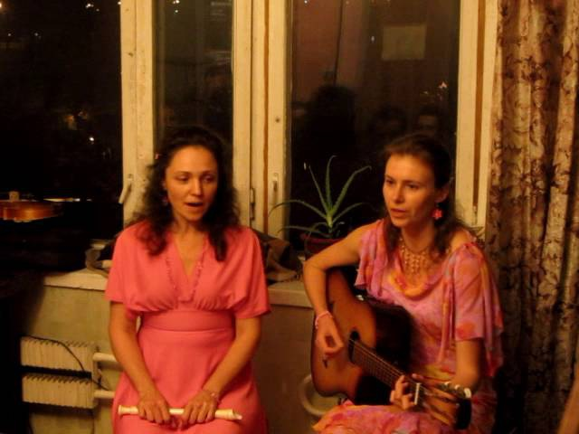 Олеся Заграва и Алёна Ермакова, квартирник в Москве 18.09.2016