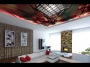 Дизайн уютной гостиной от Аста М Виды натяжных потолков