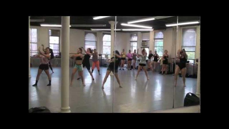 Joffrey Ballet School NYC Jazz/Contemporary Program Jazz Class W/ Ashani Mfuko