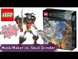 LEGO Bionicle: Mask Maker vs. Skull Grinder - Brickworm