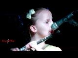 Ученица Ксения Збарская. Одинокий пастух. Уроки игры на флейте